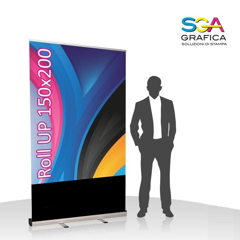 Roll-up Monofacciale 150x200